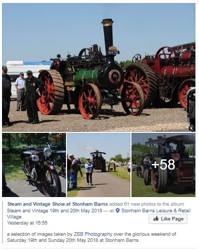 steam and vintage