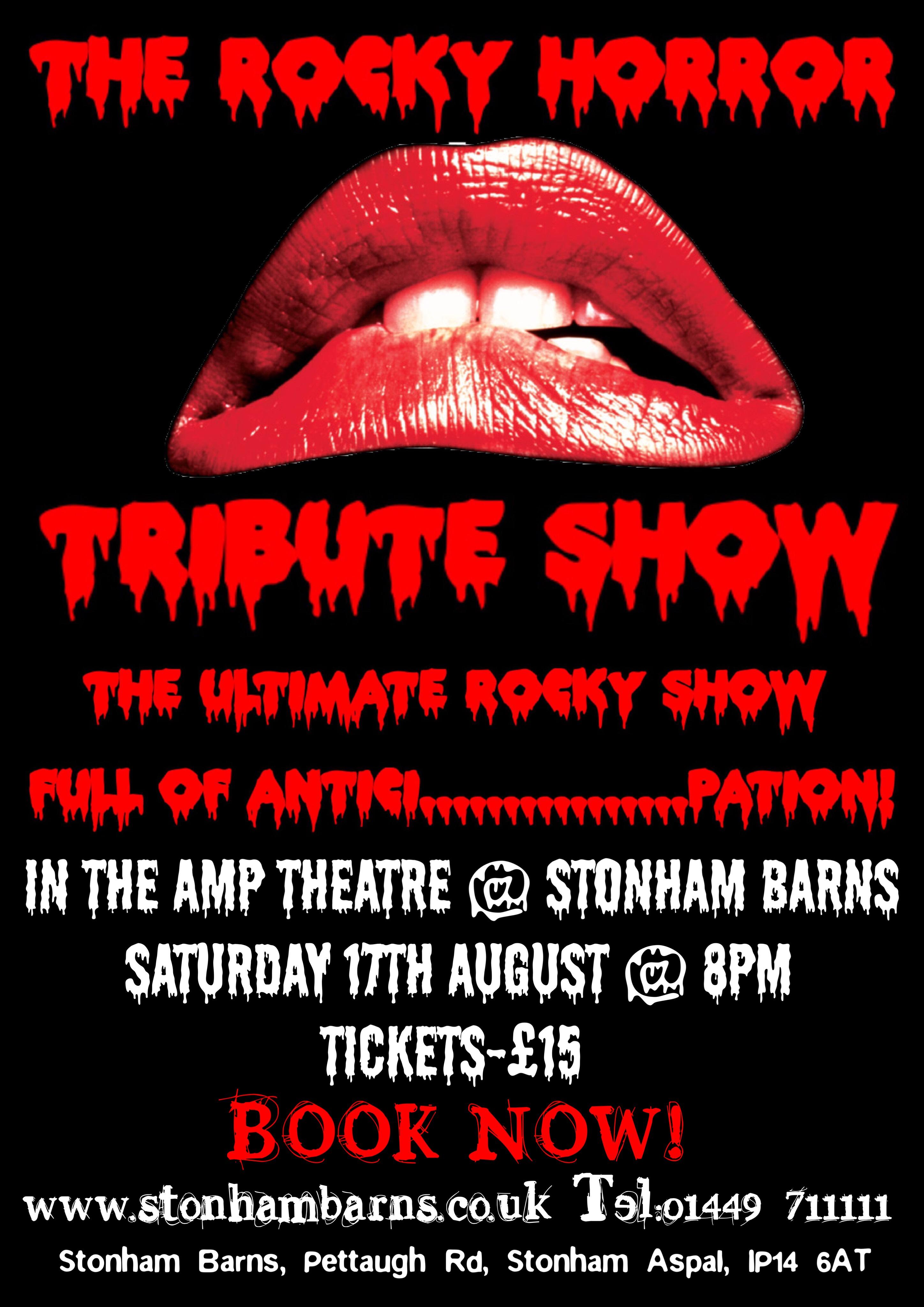 The Rocky Horror Tribute Show Stonham Barns